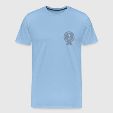 Red Medal Number 2 - Customizable - Men's Premium T-Shirt