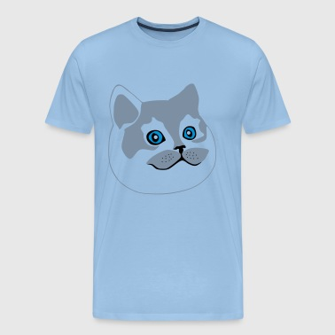 gros chat / fat cat - T-shirt Premium Homme