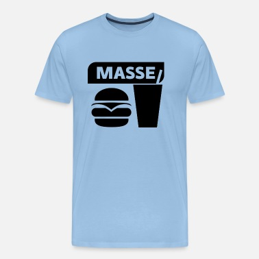 Masse Bodybuilding MASSE - Bodybuilding Motivation - Männer Premium T-Shirt