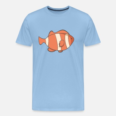 Poisson Clown Poisson-clown - T-shirt Premium Homme