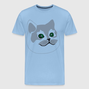 big cat / fat cat - Men's Premium T-Shirt