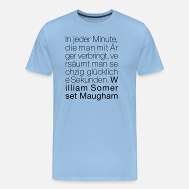 Somerset William Somerset Maugham - Männer Premium T-Shirt