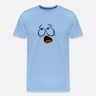 Smiley Lengua smiley - Camiseta premium hombre