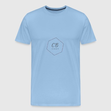 CB SHOP logo - Men's Premium T-Shirt