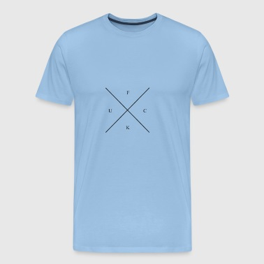Mille mill cross: FUCK - Männer Premium T-Shirt