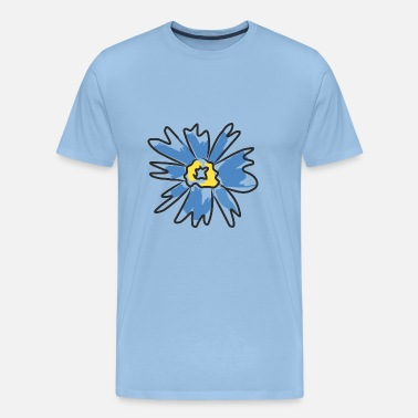 Fiorella FLOWER ASTATTO RETRO - Men's Premium T-Shirt