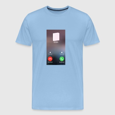 Read Phone Call Call - Men's Premium T-Shirt