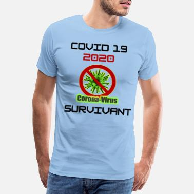 70th Birthday Special edition. T-shirt following the confinement of the - Men's Premium T-Shirt