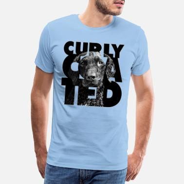 Curly Coated II - Mannen premium T-shirt