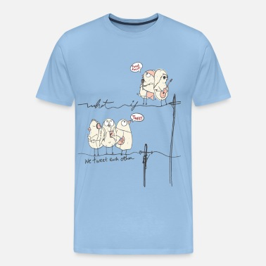 Youtuber Comic What If We Tweet Each Other - Männer Premium T-Shirt
