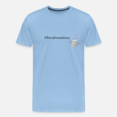 Marshmallow marshmallow - Men's Premium T-Shirt