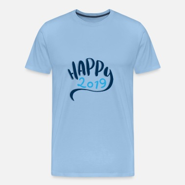 New Order New year new year 2019 new year beer party year - Men's Premium T-Shirt