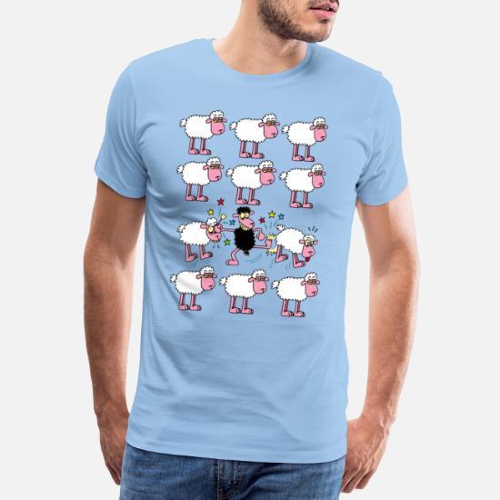 svart Premium T shirt herr   Spreadshirt