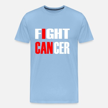 Cancer Sucks Fight Cancer 2- Fights against cancer - Men's Premium T-Shirt