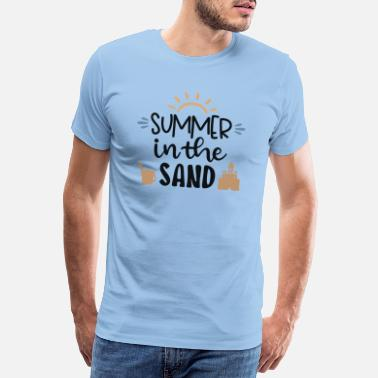 Beachparty Summer In The Sand - Men's Premium T-Shirt