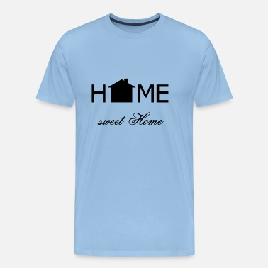 Appartement Home sweet home zwart - Mannen Premium T-shirt