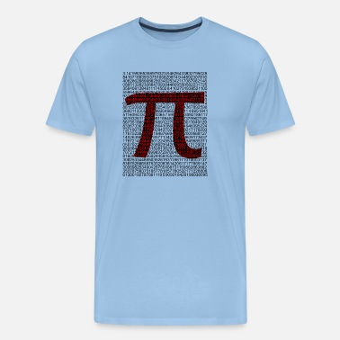 Irrational PI High Quality for Nerds - Men's Premium T-Shirt