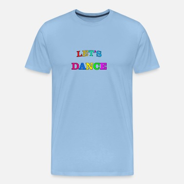 David Bowie lets Dance 02 - Mannen Premium T-shirt