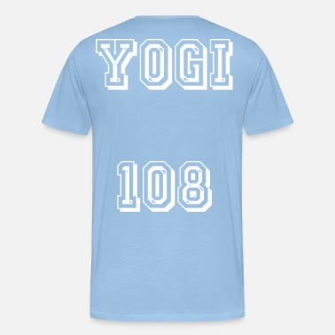 Index Yogi 108 blanc - T-shirt Premium Homme