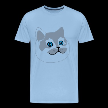 grote kat / fat cat - Mannen Premium T-shirt