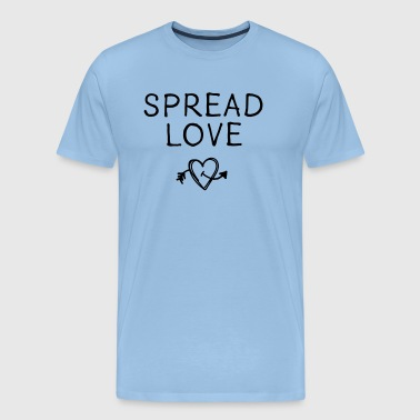 Spread Love - Männer Premium T-Shirt
