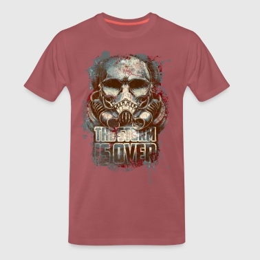 the storm is over - Men's Premium T-Shirt