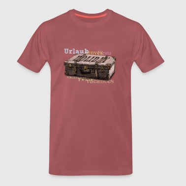 holiday - Mannen Premium T-shirt