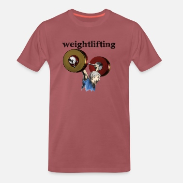 Weightlifting Weightlifting - Camiseta premium hombre