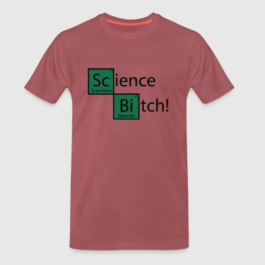 Science Bitch, PSE, Elements - Koszulka męska Premium