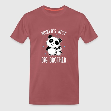 World's Best Big Brother - Männer Premium T-Shirt