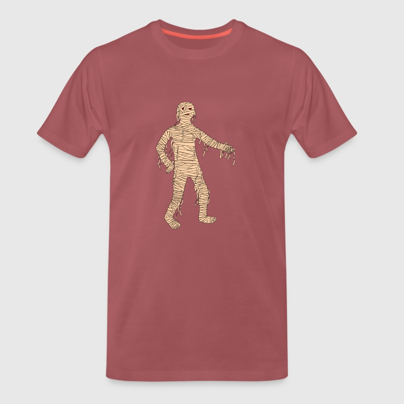 Mummy Halloween - Men's Premium T-Shirt