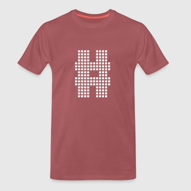 Hashtag layout - Men's Premium T-Shirt