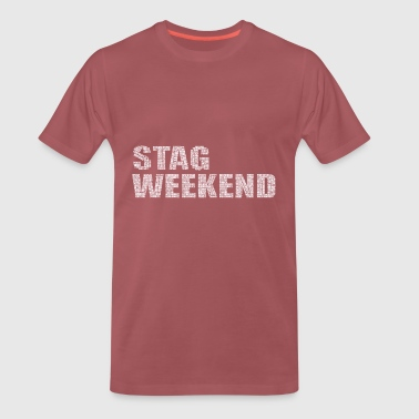 Bachelor Party Weekend Stag Bachelor - Men's Premium T-Shirt