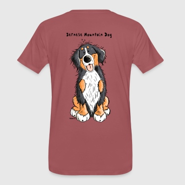 Cute Bernese Mountain Dog - Men's Premium T-Shirt