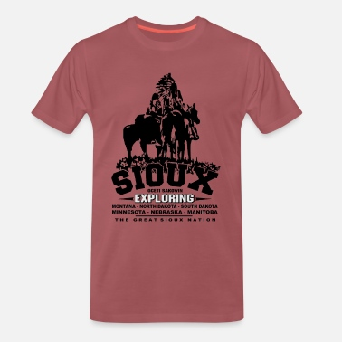 Navajo The Great Sioux Nation - T-shirt premium Homme