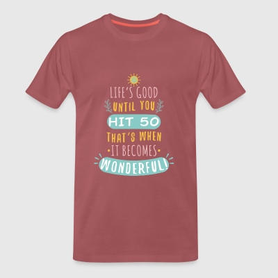Wonderful - Camiseta premium hombre