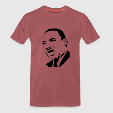 martin luther king stencil - T-shirt Premium Homme