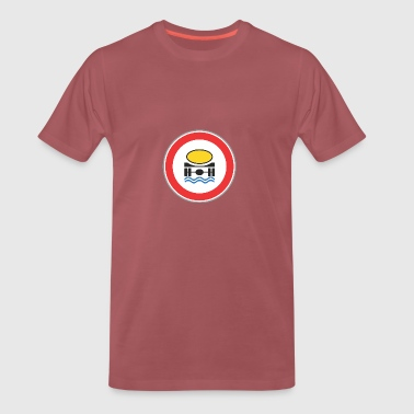 Road sign camion d'eau - T-shirt Premium Homme