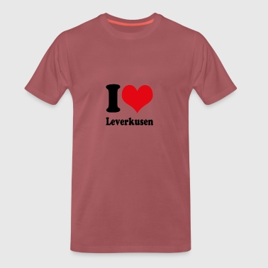 I love Leverkusen - Men's Premium T-Shirt