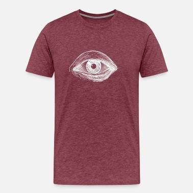 Kabbalah The seeing eye - Var. II knows - Men's Premium T-Shirt