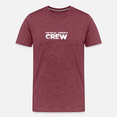 Therapist Physiotherapy crew - Men's Premium T-Shirt