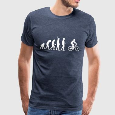 Evolution Mountainbiker - Männer Premium T-Shirt