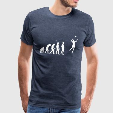 Evolution Volleyball - Männer Premium T-Shirt