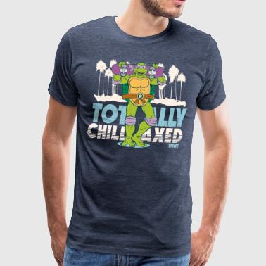 TMNT Turtles Donatello Totally Chillaxed - Miesten premium t-paita
