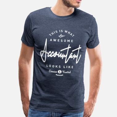 Accountant Accountant_shirt - Men's Premium T-Shirt