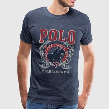 International Polo  - Men's Premium T-Shirt