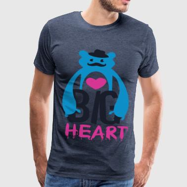 Big Heart Monster Hugs - Men's Premium T-Shirt