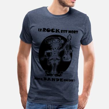 Rock is dead - T-shirt Premium Homme
