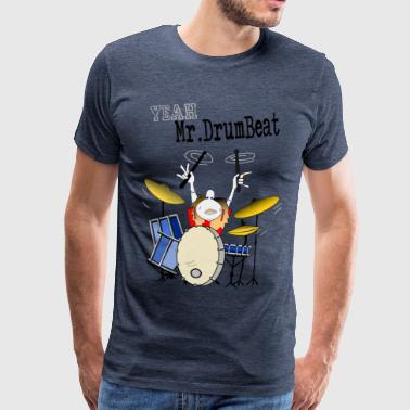 Mr.DrumBeat - Männer Premium T-Shirt
