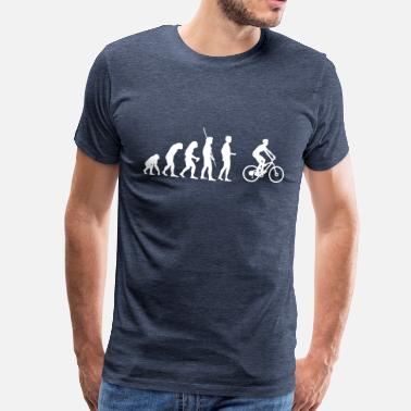 Evolution Mountain Bike Evolution mountain bikers - Men's Premium T-Shirt